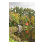 Boat House on the Lake Personalized Stationery