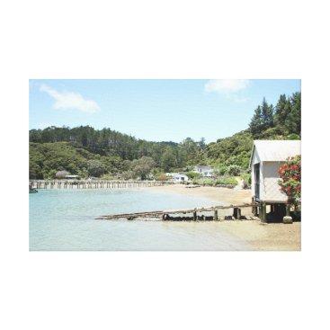 Beach Themed Boat House photo print