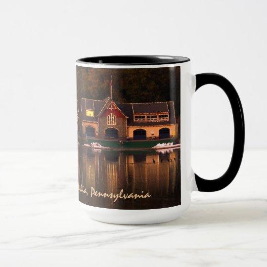 Boat House Row - Mug