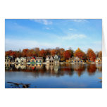 Boat House Row, Philadelphia, PA Stationery Note Card