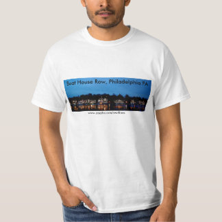 Boat House Row, Philadelphia PA - Day and Night T-Shirt