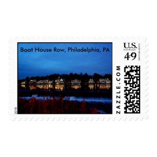 Boat House Row, Philadelphia, PA Stamp