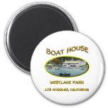 Boat House Westlake Park Magnets