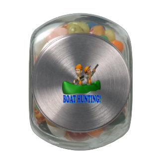 Boat Hunting Glass Jars
