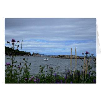 Boat in Brent's Cove Card