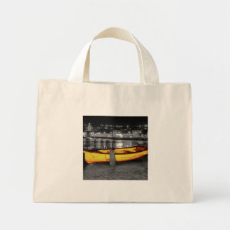 BOAT IN ST. IVES TOTE BAGS