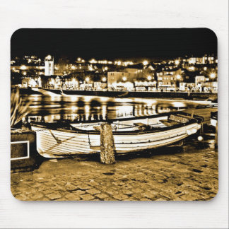 BOAT IN ST. IVES CORNWALL MOUSE PAD