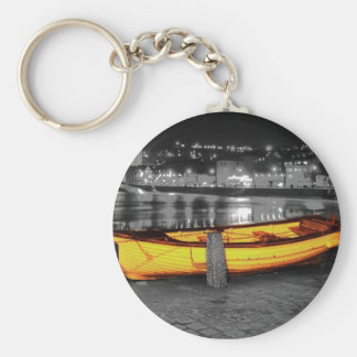 BOAT IN ST. IVES KEYCHAIN