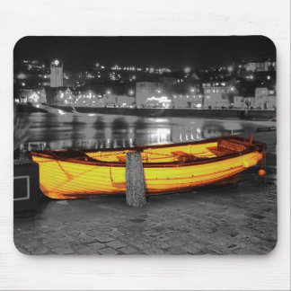 BOAT IN ST. IVES MOUSE PAD