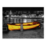 BOAT IN ST. IVES POST CARD
