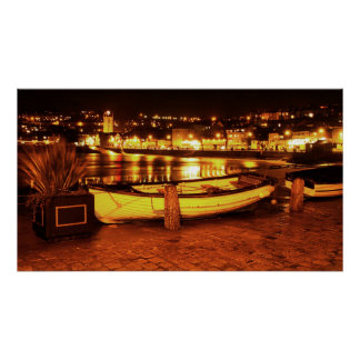 BOAT IN ST. IVES POSTER