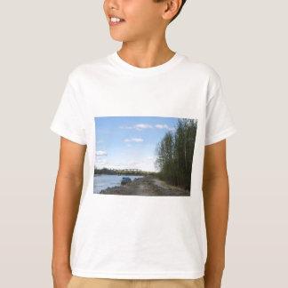 Boat In Talkeetna Alaska Water T-Shirt