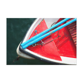 Boat in the Sea Lona Envuelta Para Galerias