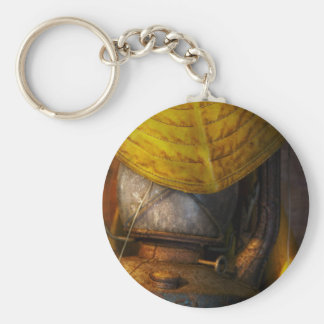 Boat - It was a dark and stormy night Basic Round Button Keychain