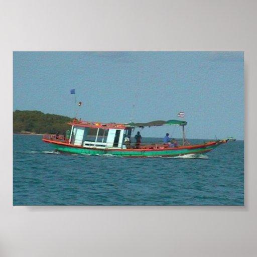 Boat, Koh Samui Posters