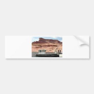 Boat, Lake Powell, Arizona, USA 2 Bumper Sticker