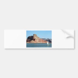 Boat, Lake Powell, Arizona, USA 3 Bumper Sticker