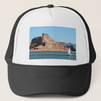Boat, Lake Powell, Arizona, USA 3 Trucker Hat