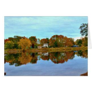 Boat Landing Reflections Card