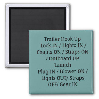 Boat Launch Magnet