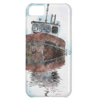 Boat-lovers Fishing Trawler Watercolour Art Series iPhone 5C Case