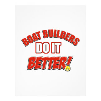 Boat Managers job designs Custom Letterhead