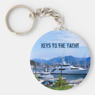 Boat Marina Key Chain