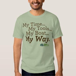 Boat My Way T-shirt