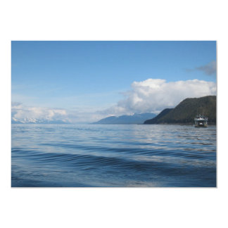 Boat near Auke Bay, Alaska Card
