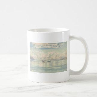 Boat of Francois Bocion Lac Leman Coffee Mug