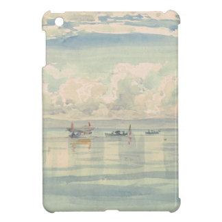 Boat of Francois Bocion Lac Leman Cover For The iPad Mini