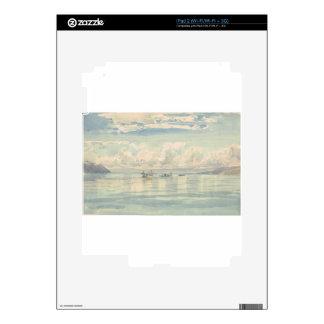 Boat of Francois Bocion Lac Leman iPad 2 Skin