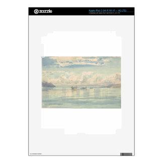 Boat of Francois Bocion Lac Leman iPad 3 Decal