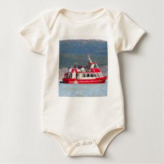 Boat on Lago Grey, Patagonia, Chile Baby Bodysuit