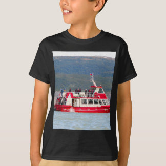 Boat on Lago Grey, Patagonia, Chile T-Shirt