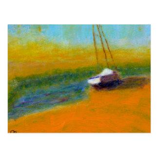 Boat on Land, Postcard
