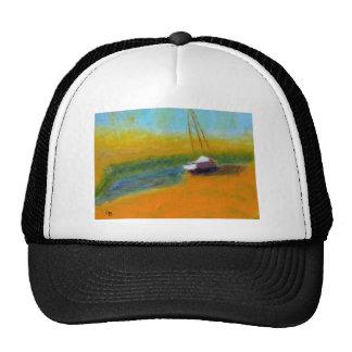 Boat on Land Trucker Hat