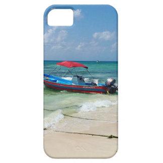 Boat on Playa Del Carmen iPhone SE/5/5s Case