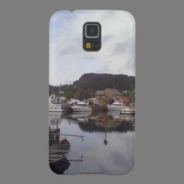 Boat on the sea cases for galaxy s5