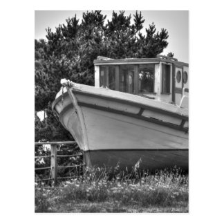 Boat Out Of The Water Postcard