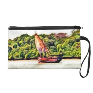Boat painted wristlets