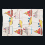 """Boat Parade Towel<br><div class=""""desc"""">Because one boat will never be enough. Only a bevy of boats will do!</div>"""