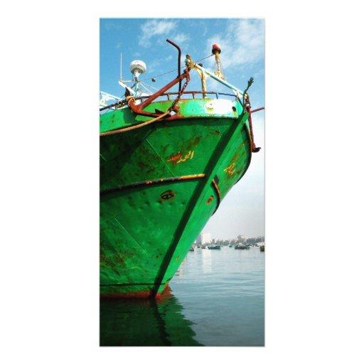 Boat Photo Greeting Card
