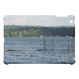 Boat Pier  - Chautauqua Lake iPad Mini Covers