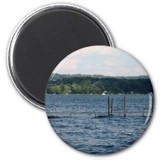 Boat Pier  - Chautauqua Lake Magnet