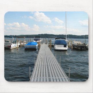 Boat Pier  - Chautauqua Lake Mouse Pad
