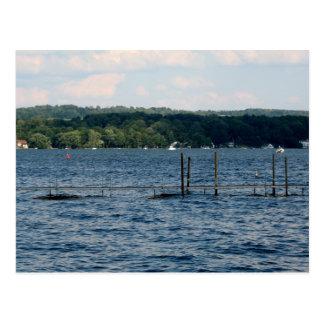 Boat Pier  - Chautauqua Lake Postcard