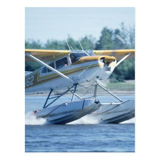 Boat Plane Postcard