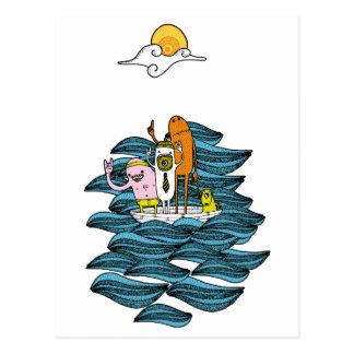 Boat Postcards