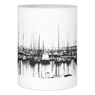 Boat Printed LED Candle